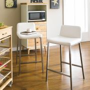 SuperRange-White  Counter Chair