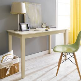 Y3232-30C Wood Desk-Cream
