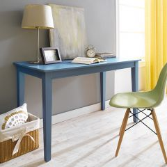 Y3232-30B Wood Desk-Blue