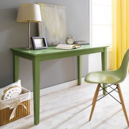 Y3232-30G Wood Desk-Green