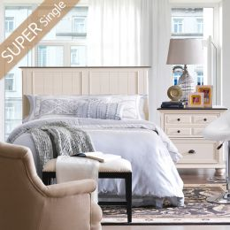 Summerlyn-Panel-HB   Super Single Panel Bed