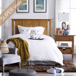 Y3613-64H-HB   Super Single Panel Bed