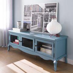 E2185-07B  TV Stand (Blue)