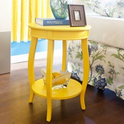 256-350 Yellow  Table