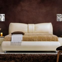 1099  Leather Bed