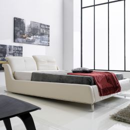 AY269  Leather Bed