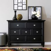 B3097-20-BLK  Drawer Dresser