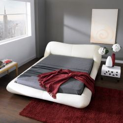 AY319  Leather Bed