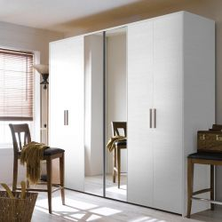 MC-7030L  3-Unit Closet  w/ Mirror Door
