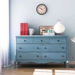 B2185-20B  Drawer Dresser (Blue)
