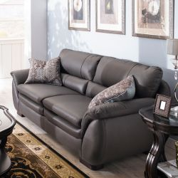 S-1828  Leather Sofa