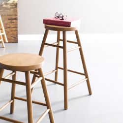 Dos-Walnut  Bar Stool