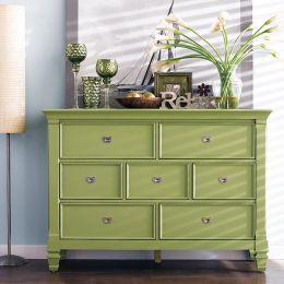 B3097-20G  Drawer Dresser (Green)