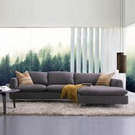 Talida-Grey  Sofa w/ Chaise