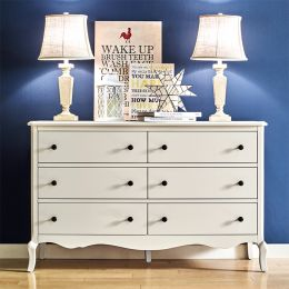 B2185-22-Cream  Drawer Dresser