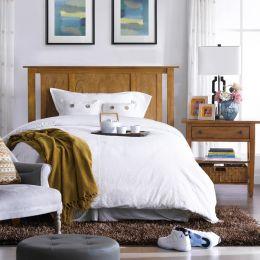 B3613-53H-HB  Queen Panel Bed