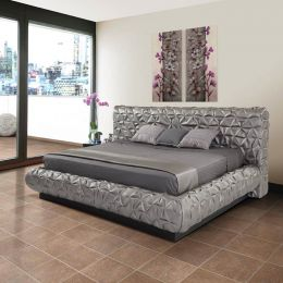 Amalfi Silver  Queen Bed