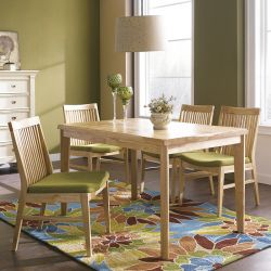 Lucy-4  Dining Set  (1 Table + 4 Chairs)