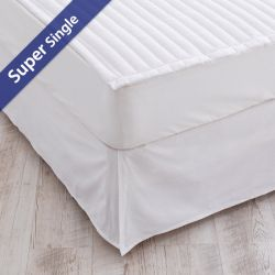 Matt Skirt-White-1200  Mattress Skirt