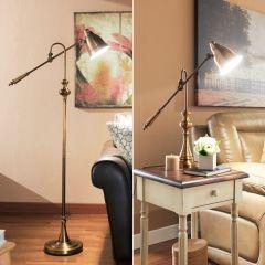 97623  Floor & Desk Lamp Set