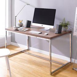 Dalino  Wooden Desk w/ Chrome