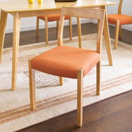 Mango-Orange-C  Wooden Chair
