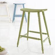 Lucas-Green  Wooden Stool