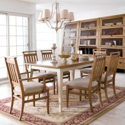 D3503-20  Dining Set (1 Table + 2 Arm + 4 Side)