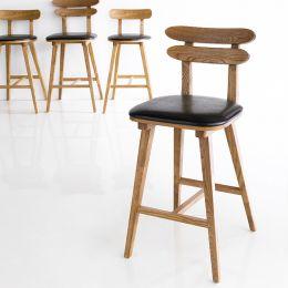 Olive-Dark  Bar Chair