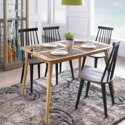 CaRo  Dining Set (1 Table + 4 Chairs)