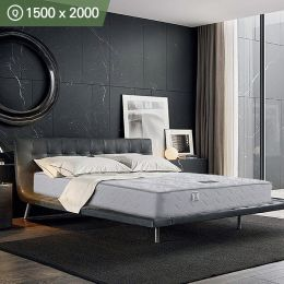 Austin-1500  Queen Pocket Coils Spring  w/ Memory Foam Mattress (상단)