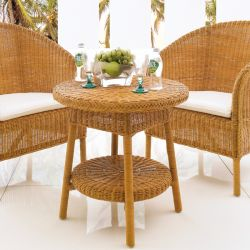 COZ Rattan  Round Table