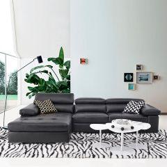 MU-2620  Leather Sofa w/ Chaise