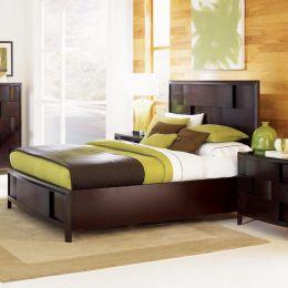 B1428  Queen Panel Bed