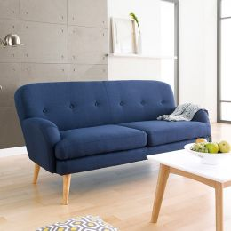 Hobart-Blue  3-Seater Sofa