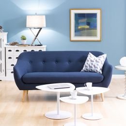 Alunda-Blue  3-Seater Sofa