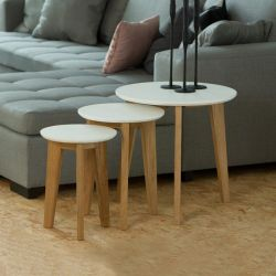 Abin  Nesting Tables (3 Pcs 포함)