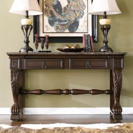 22240  Marble Console ~Real Marble Top~