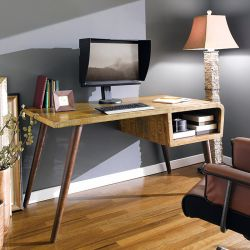 12966  Wood Desk