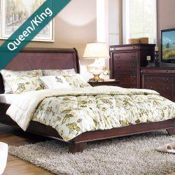 Grandiflora  Queen/king Comforter ~100% Cotton~ (솜이불+베개커버 2개)(Size: 213 cm x 230 cm)