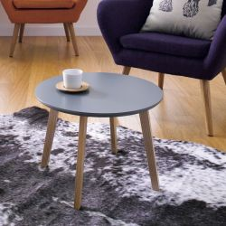 Molina-Grey  Side Table