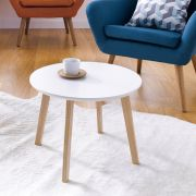 Molina-White  Side Table