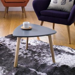 Vitis-Grey  Side Table
