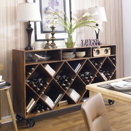12580  Wine & Storage Rack