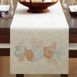 Seashore  Table Runner  (Size: 33cm x 229cm)