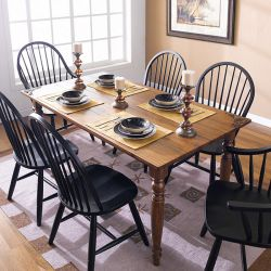 D623  Dining Set (1 Table + 2 Arm + 4 Side)