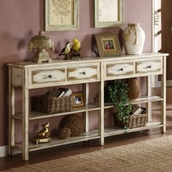 32062  4-Drawer Console