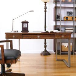 IQ-AUS-WD54  Writing Desk ~Acacia Wood~