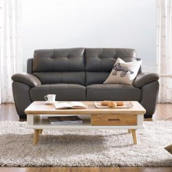 S-1855  Leather Sofa~면피가죽~