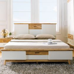 Vivid-QB  Queen Panel Bed